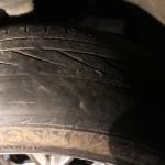 dn s více jak 3 promile, sjeté pneu foto PČR NJ (1)