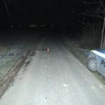 místo kde mělo dojít ke střetu chodce a cyklisty (2)