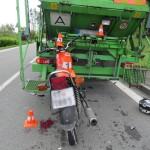 nehoda motorkáře foto PČR (1)