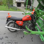 nehoda motorkáře foto PČR (2)