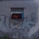 pomalované stěny budov  (1)