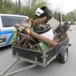 nebezpečně uložený náklad, přetížený vozík(2) - kopie